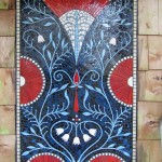 Sauna shower commission by Jennifer Kuhns