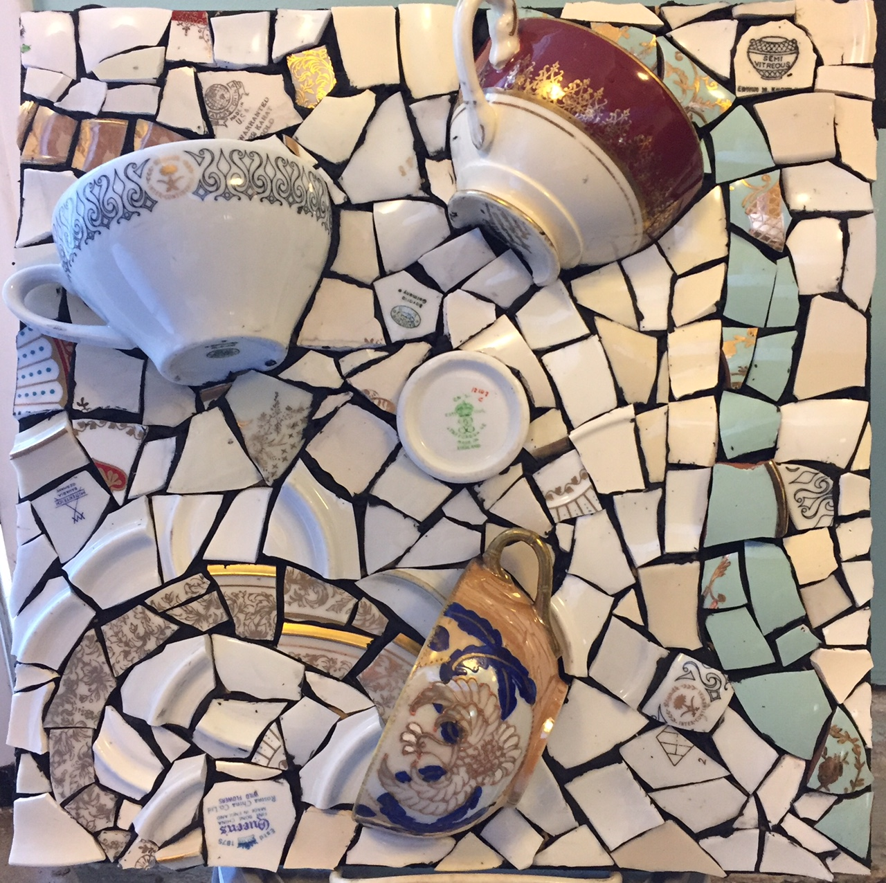 Kits - Mosaic DIY Project Kit - Funky Owl 30x30cm was listed for ...