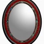 Sangria mirror by Angie Heinrich